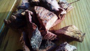 Preparación del té de cocolmeca