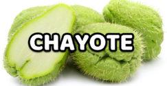 Chayote beneficios y propiedades